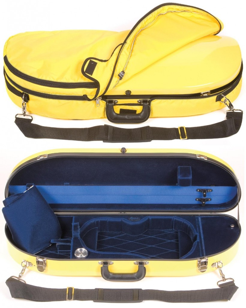 violin case bobelock 1047fv yellow