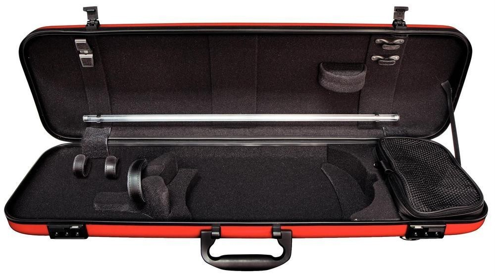 violin case hc red gewa